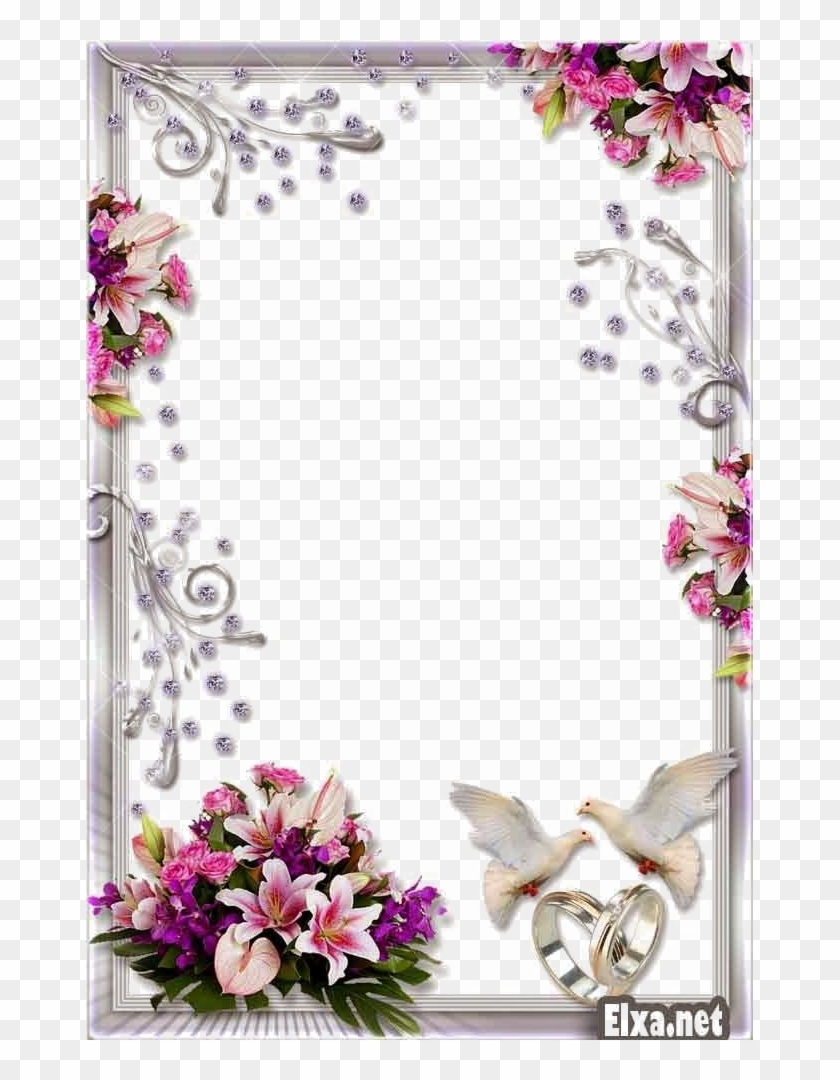 Wedding Frame Png Transparent Background.
