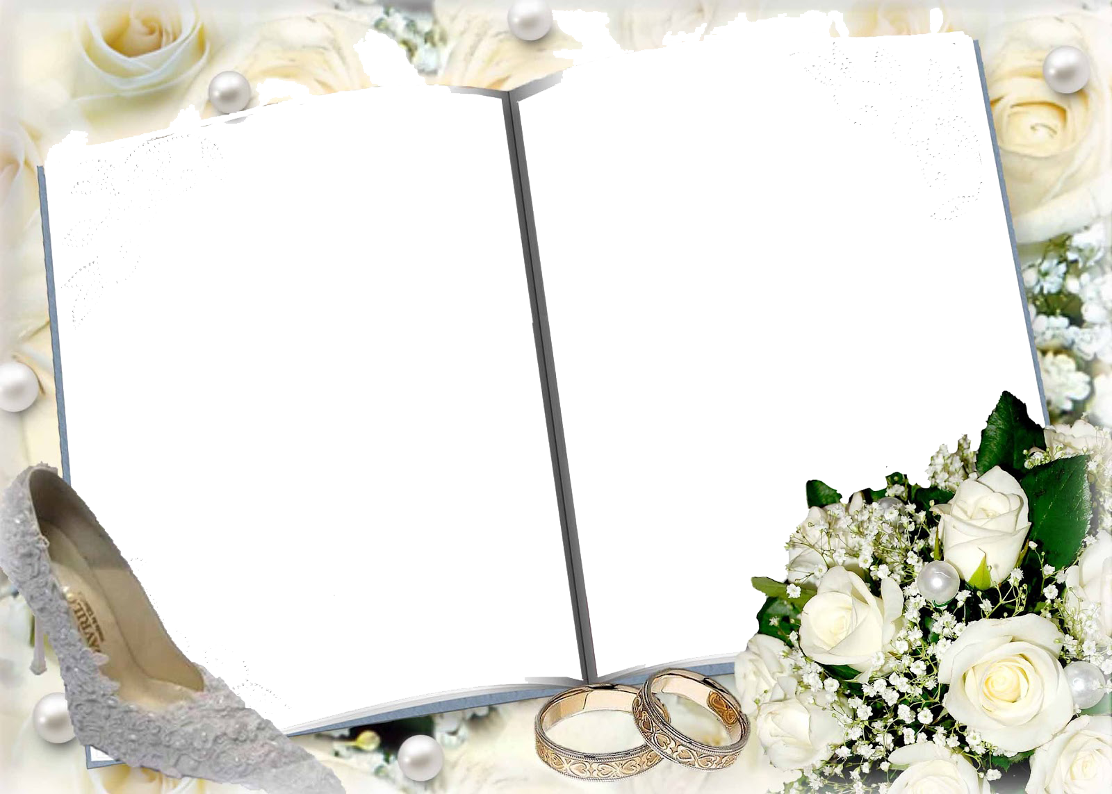 Download Wedding Frame High Quality PNG.