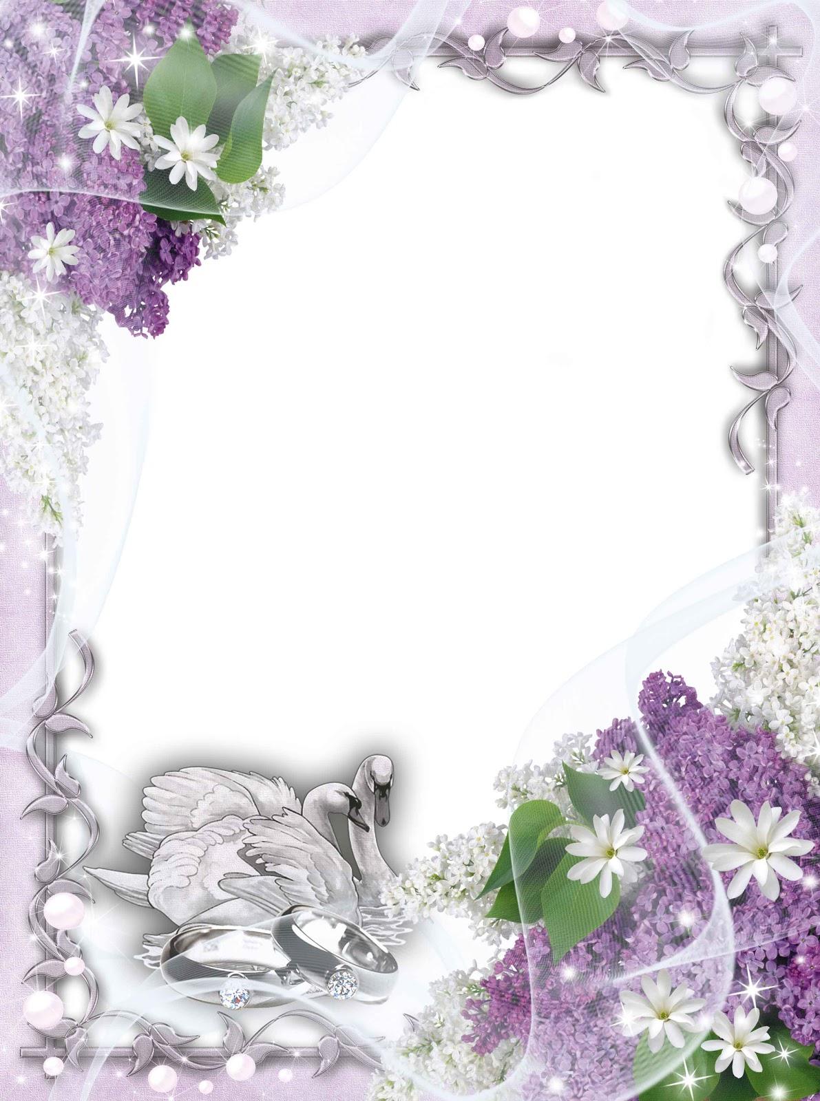 Download Png Wedding Frame Images Free #35178.