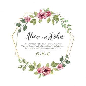 Wedding Vectors, Photos and PSD files.