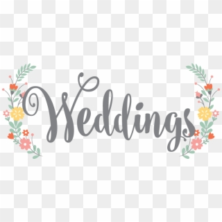 Free Wedding Text PNG Images.
