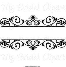 Stunning Clipart For Wedding Programs Bride Program Pencil And.