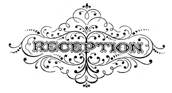 Free Wedding Reception Clipart.