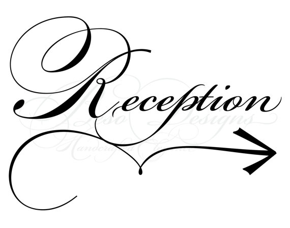 Reception Ceremony Clipart.