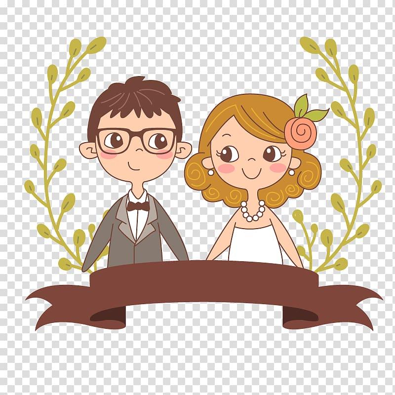 Wedded couple , Wedding invitation Save the date Wedding.