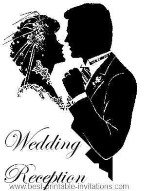 Wedding Reception Party Clipart.