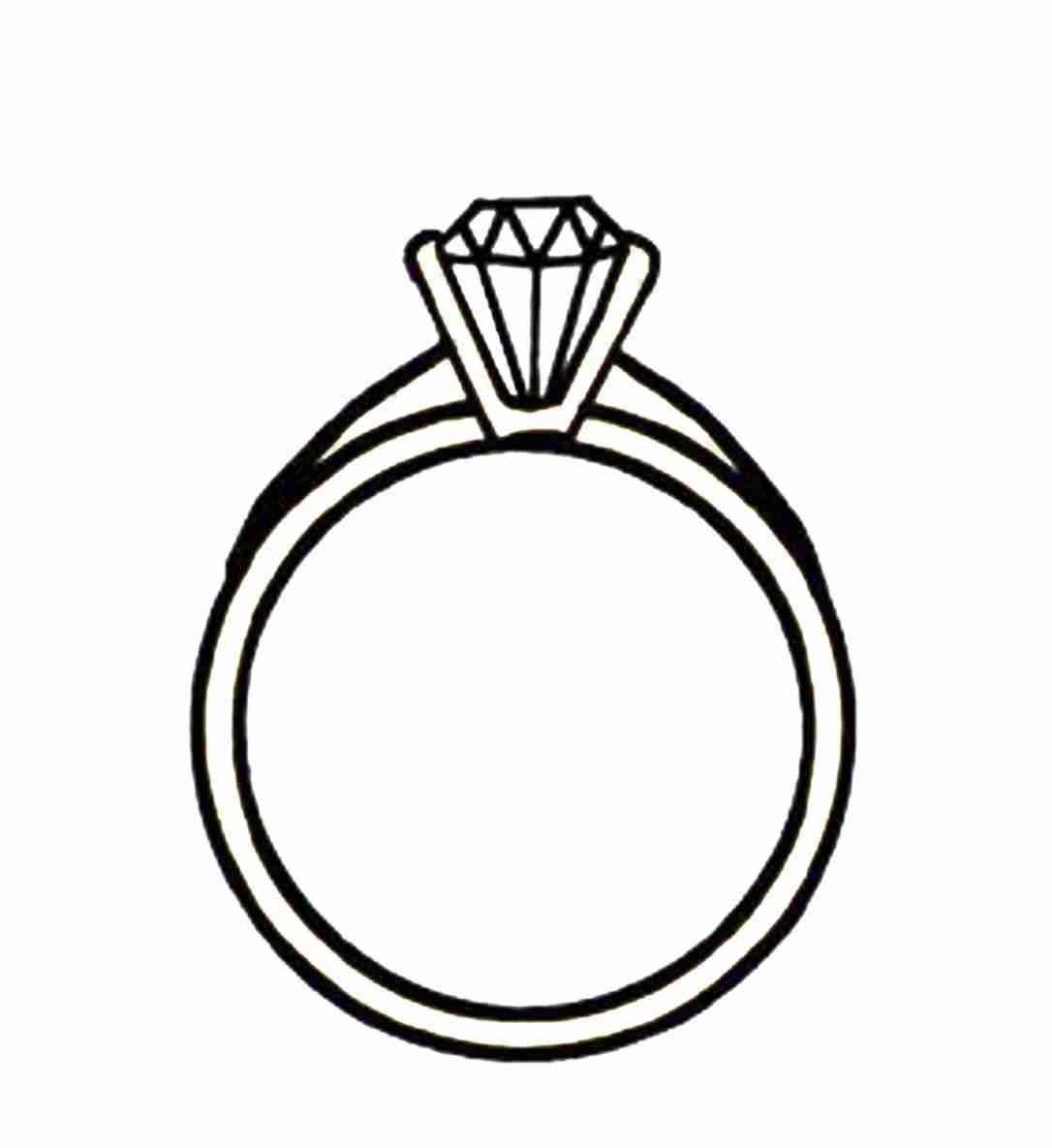 wedding ring border clipart.
