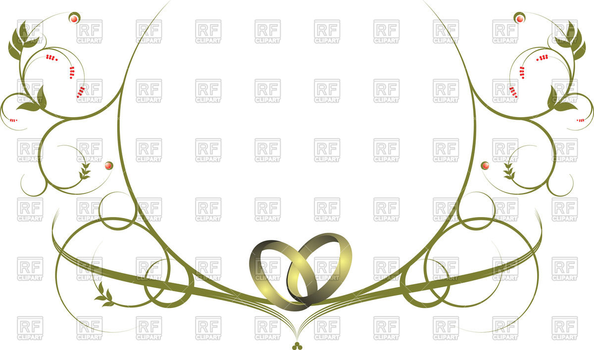 Wedding ring border clipart 5 » Clipart Station.