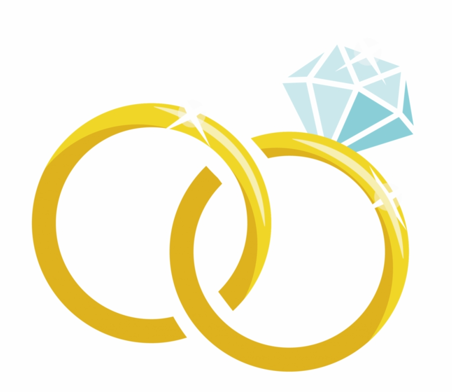 Wedding Ring Vector Png.