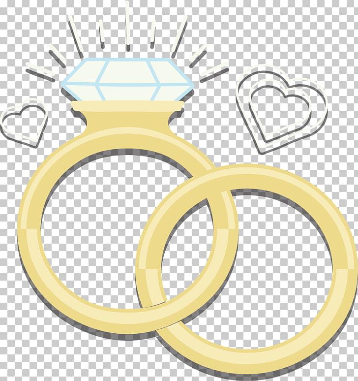 Wedding ring Diamond Euclidean , Sparkling wedding rings.