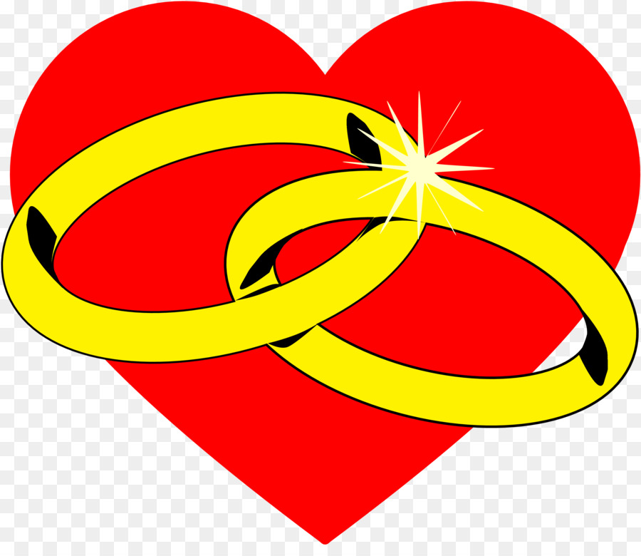 Marriage Heart png download.