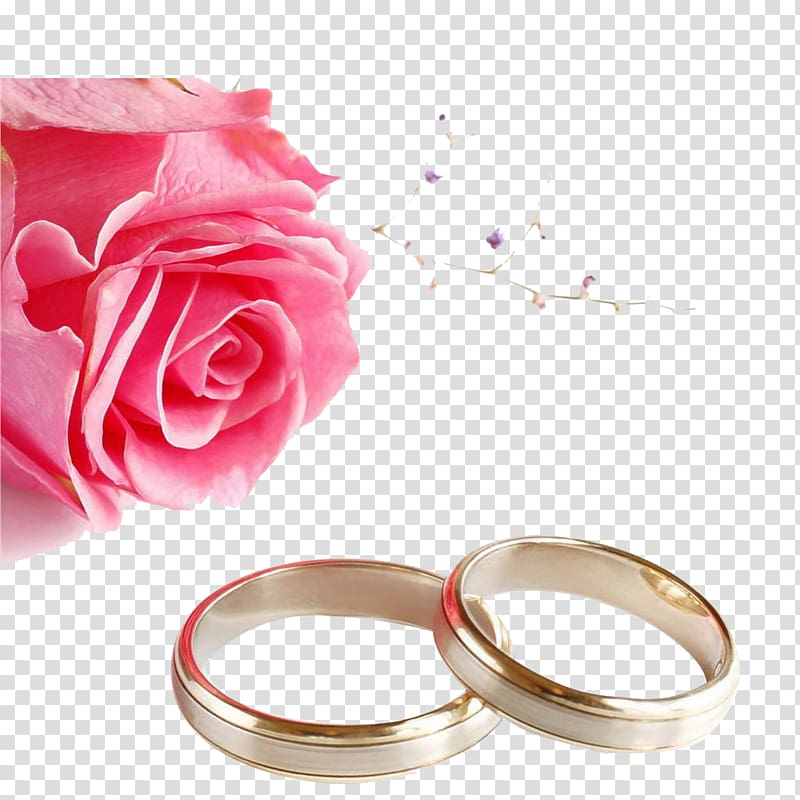 Wedding invitation Wedding ring Rose , Ring, gold.