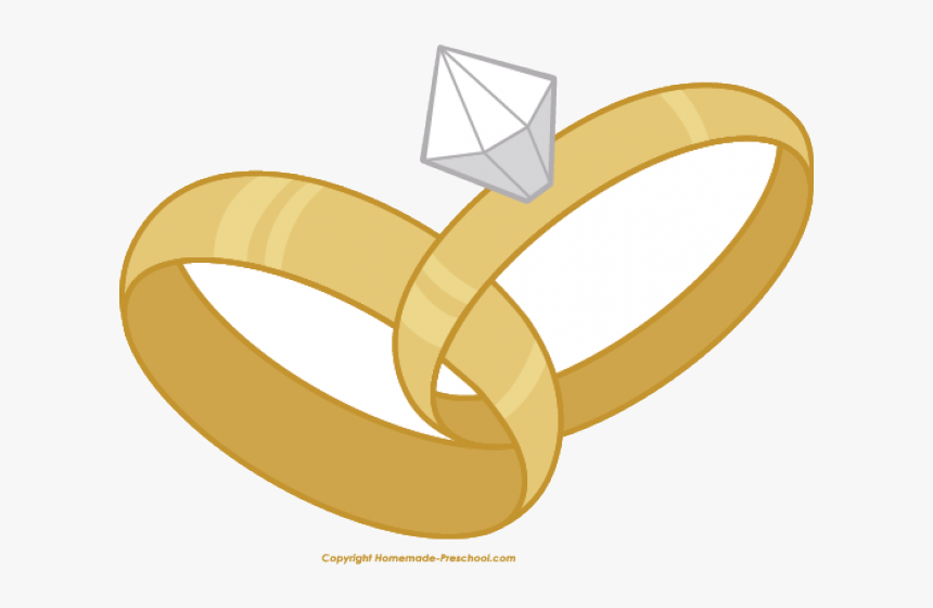 Clip Art Interlocking Wedding Rings Clipart.