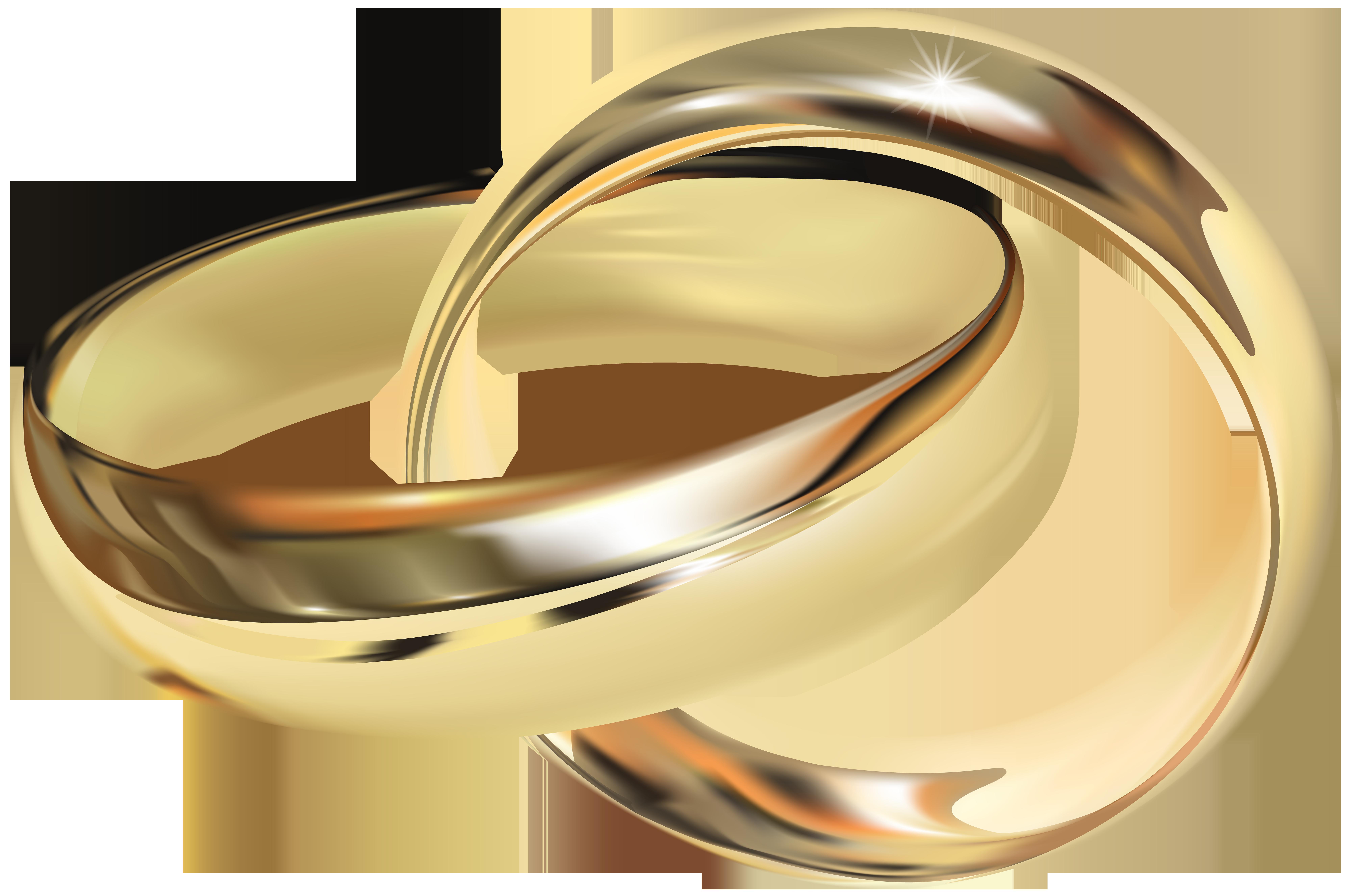 Wedding Rings PNG Clip Art.
