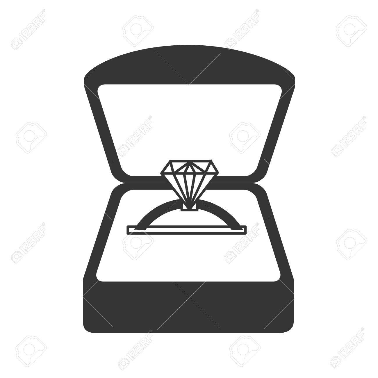 Ring Box Clipart.
