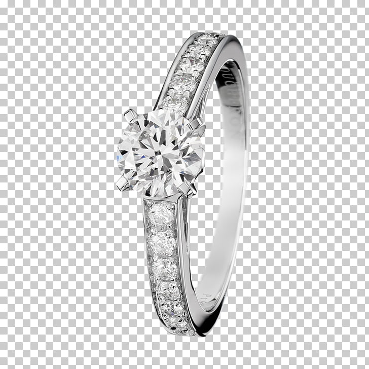 Solitaire Boucheron Engagement ring Jewellery, ring PNG.