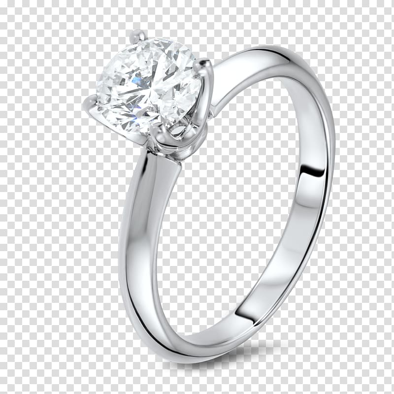 Engagement ring Diamond Jewellery Princess cut, Silver Ring.
