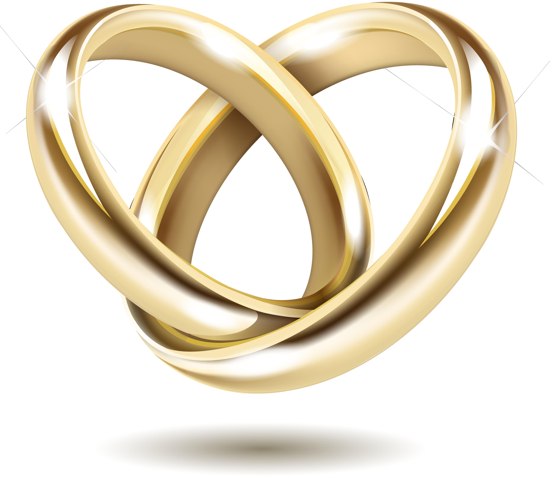 Wedding invitation Gold Wedding ring.