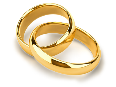 Wedding Rings Transparent Background #45282.