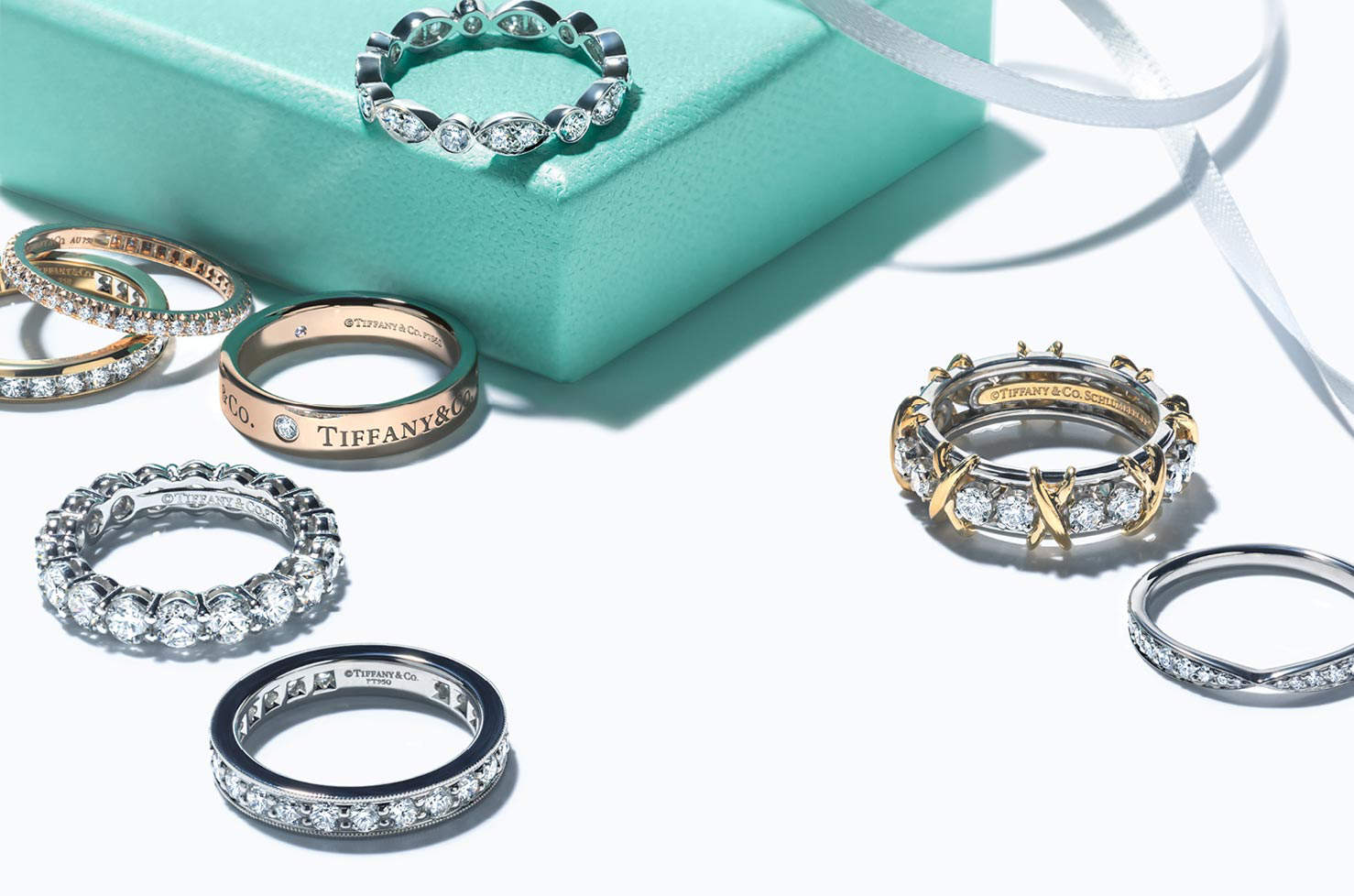 Shop Wedding Bands and Rings.