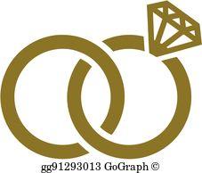 Wedding Rings Clip Art.