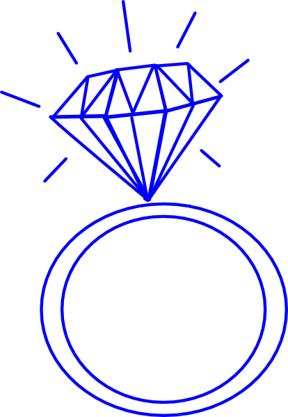 Wedding ring clipart blue, Picture #45260 wedding ring.