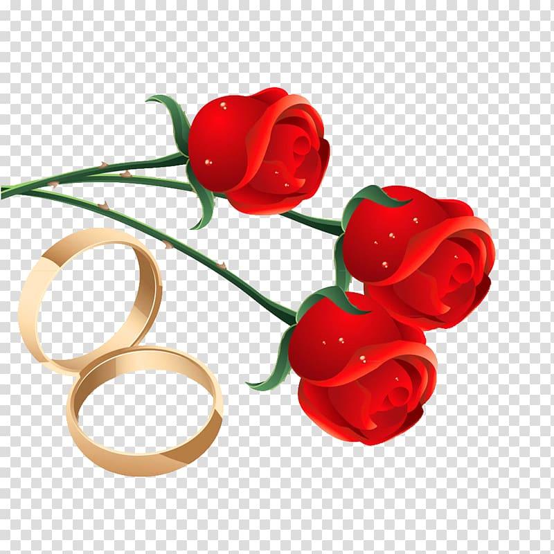 Wedding Ring, Rose engagement ring material transparent.