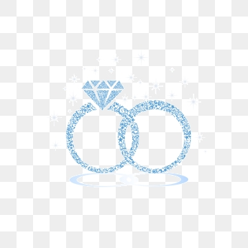Download High Quality wedding ring clipart navy blue.