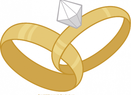 Love Birds Wedding Bands Clip art (PNG and SVG), Wedding Ring.