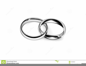 Wedding Rings Clipart Graphics.