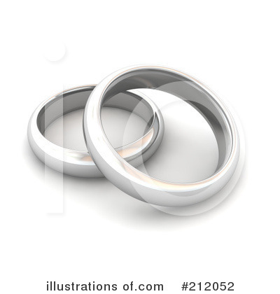 Wedding Rings Clipart #212052.