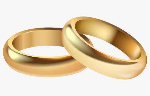 Free Wedding Rings Clip Art with No Background.