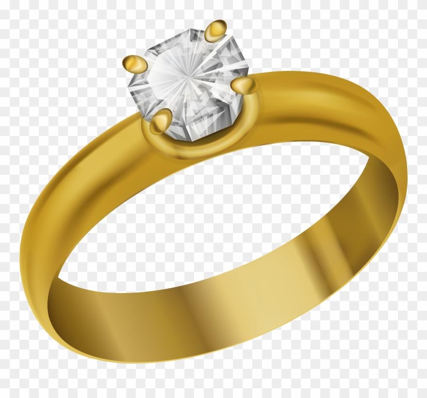 Clipart Diamond Ring Transparent.