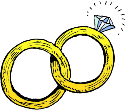 Cartoon wedding rings jpg.