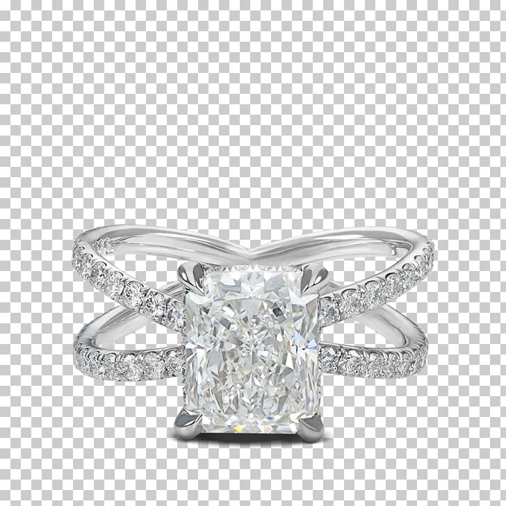 Engagement ring Solitaire Diamond, criss.