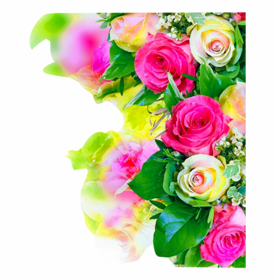 Colorful Rose Wedding Flower Flower Watercolor Free.