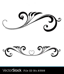 Wedding scrolls clipart » Clipart Station.