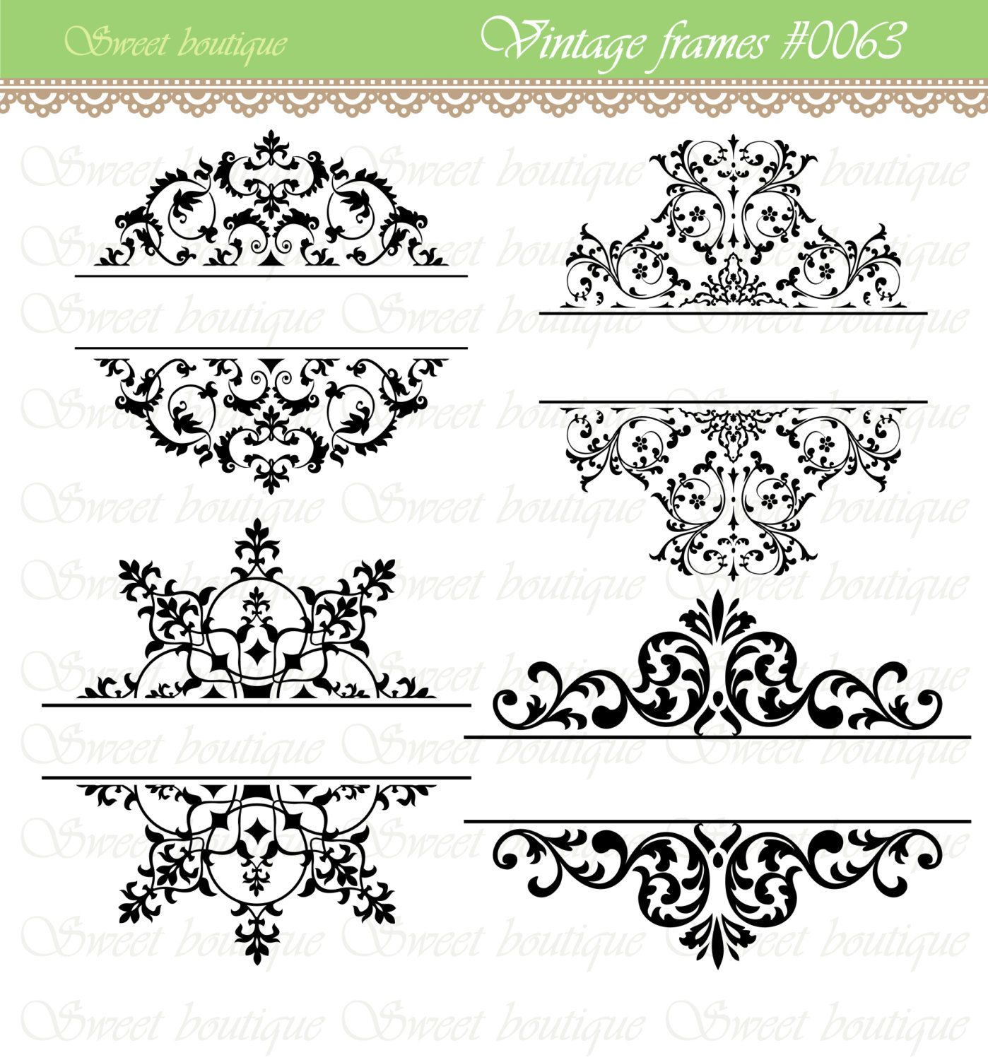 Free Bridal Shower Clip Art Borders.