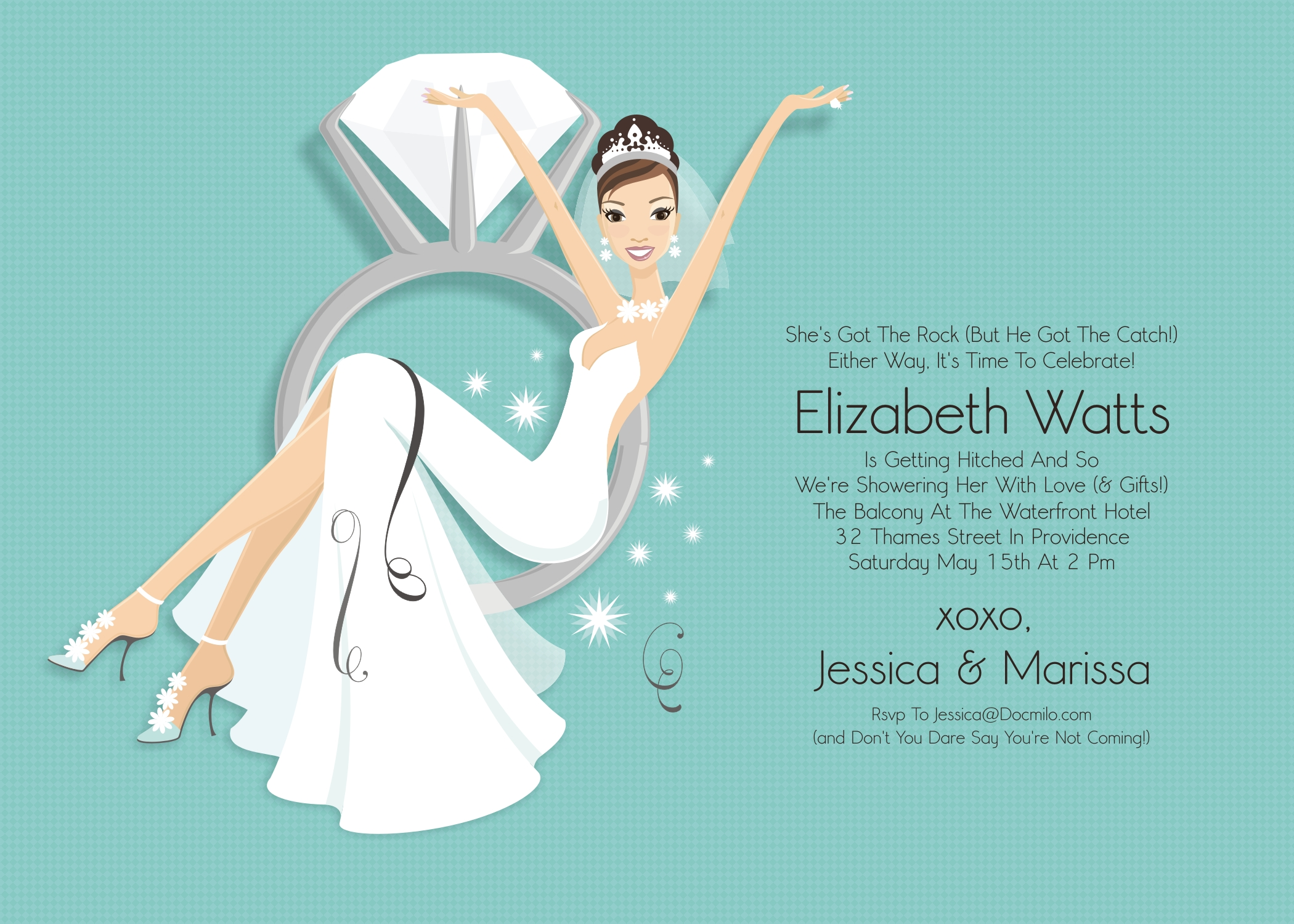 Clip Art For Bridal Shower Invitations — CLASSIC Style : Bridal.