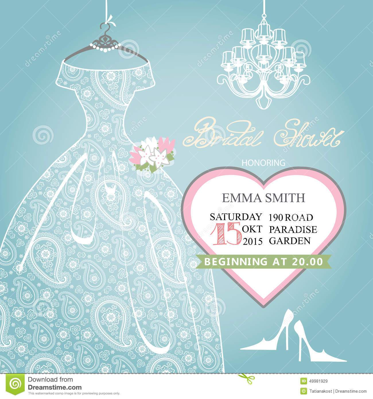 Clipart for bridal shower invitations 2 » Clipart Portal.