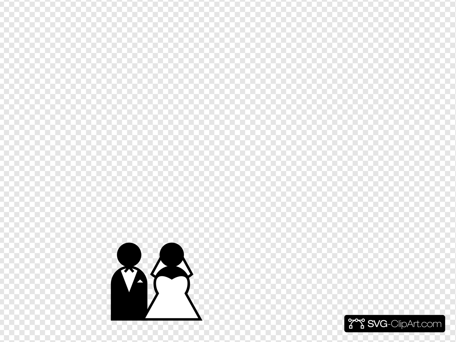 Wedding Sign Clip art, Icon and SVG.