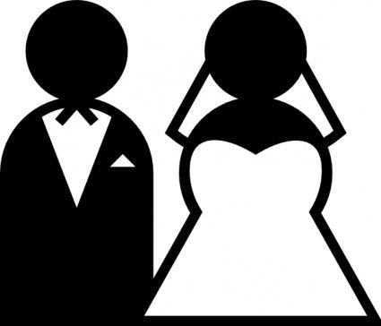 Wedding Sign clip art Clipart Graphic.