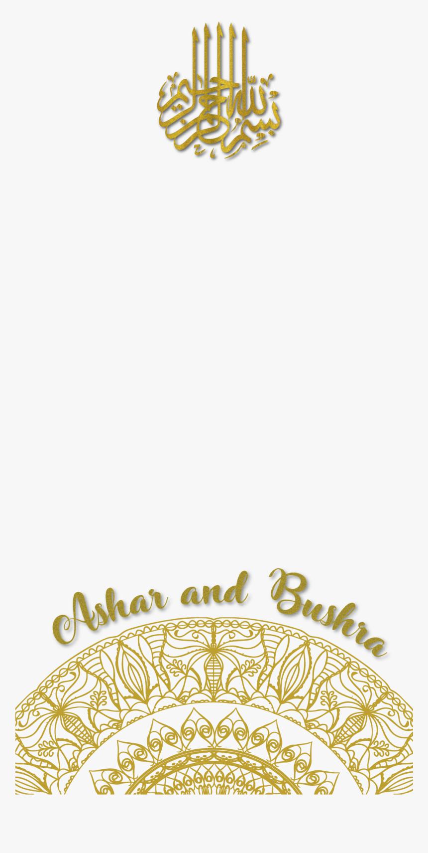 Snapchat Wedding Filter Png , Transparent Cartoons.