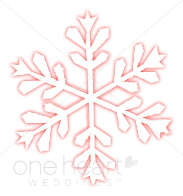 Snowflake Clipart Pink.