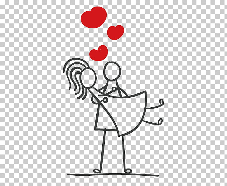 Stick figure couple Marriage, Stickman couple, couple PNG.