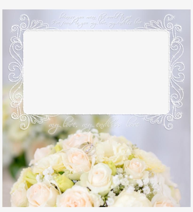 Clipart Wedding Roses Sunset Frame Png Transparent PNG.