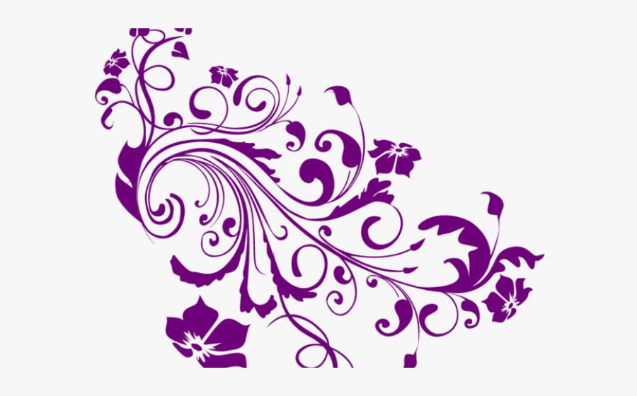 Transparent Swirls Clipart.