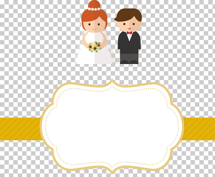 Wedding invitation Marriage , Wedding invitation label.