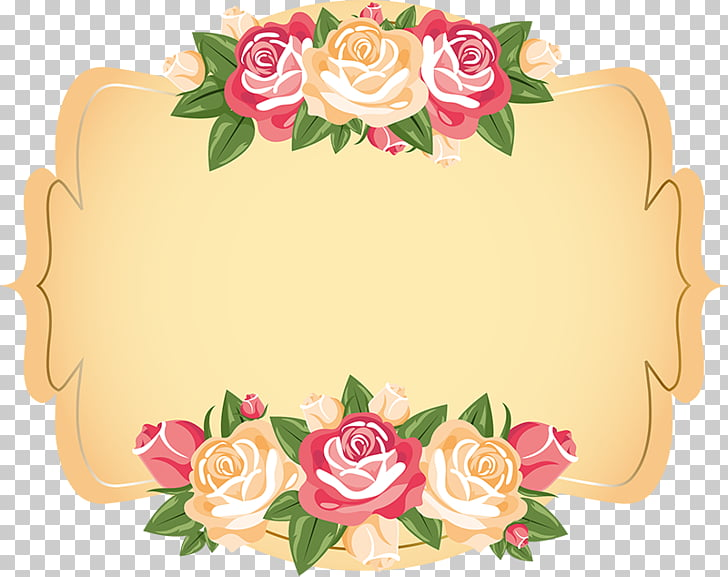 Wedding invitation Paper Label Flower, watercolor white.