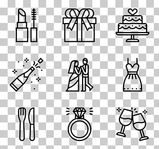 27 timeline Wedding PNG cliparts for free download.